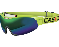 Casco Spirit Carbonic Large Green 2 écrans Green Mirror+Multilayer