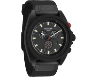 Nixon The Rover Chrono All Black/Red