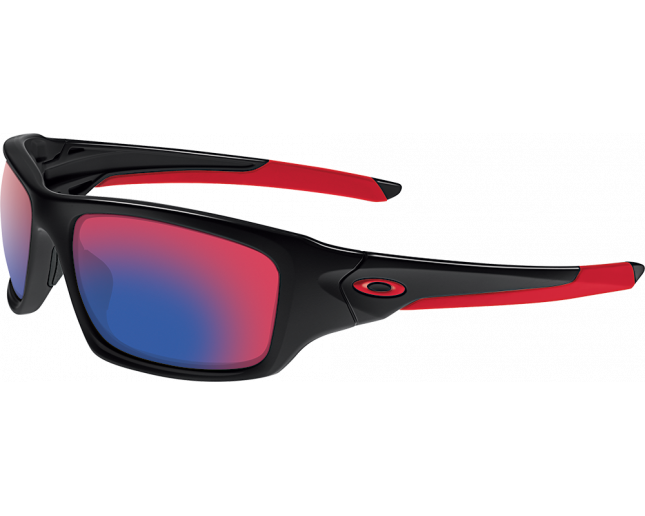 41dc94d8f9 Oakley Valve Polished black-Positive red iridium - OO9236-02 ICE ...
