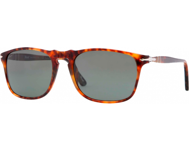0356cb9bfd Persol 3059S Vintage Celebration Caffe Crystal Green Polarized - PO3059S 108  58 ICE - Sunglasses - IceOptic
