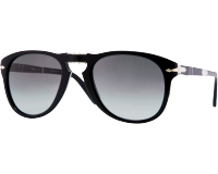 Persol 0714 Folding Steve Mc Queen Black Dark Grey Faded
