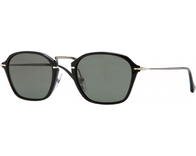 eb6182671fe82 Persol 3047S Reflex Edition Black Crystal Green Polarized - PO3047S 95 58  ICE - Sunglasses - IceOptic