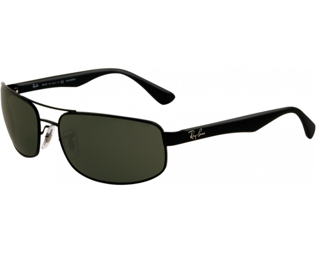 e97d7b24702f4 Ray-Ban RB3445 Black Crystal Green Polarized - RB3445 002 58 - Sunglasses -  IceOptic