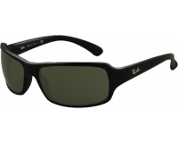Ray-Ban RB4075 RB4075 Black Crystal Green Polarized