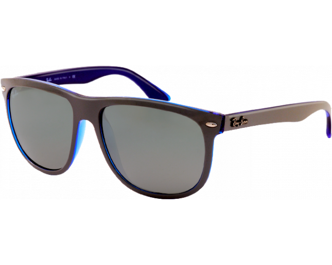 Ray-Ban Hightstreet Black Crystal Grey Gradient