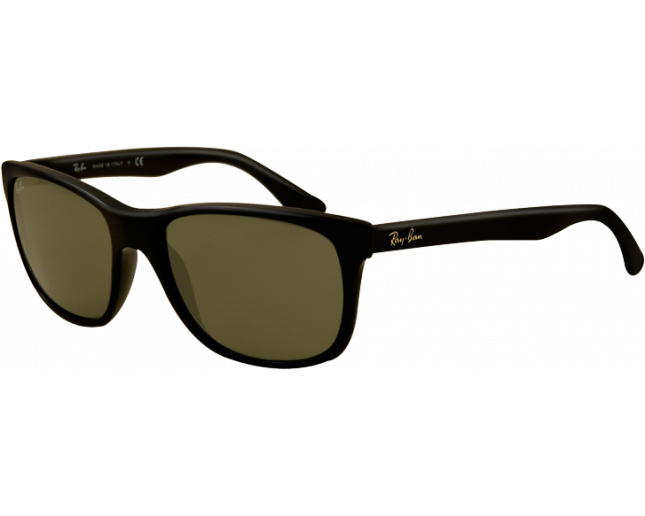 Ray-Ban RB4181 Black Crystal Green