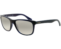 Ray-Ban RB4181 Shiny Blue Crystal Grey Gradient