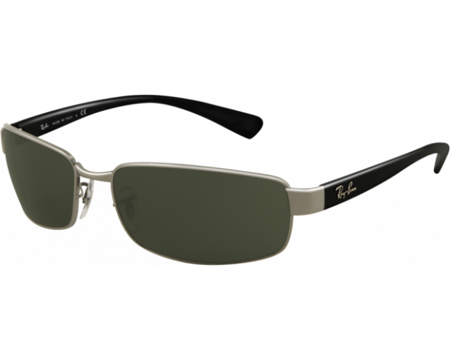 d62f52c4856 Ray-Ban RB3364 Gunmetal Crystal Green Polarized - RB3364 004 58 -  Sunglasses - IceOptic