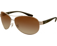 Ray-Ban RB3386 Gunmetal Brown Gradient