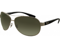 Ray-Ban RB3386 Gunmetal Polar Green
