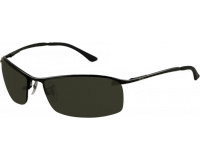 Ray-Ban Top Bar Square Matte Black Green