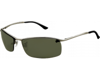 Ray-Ban Top Bar Square Gunmetal Polar Green