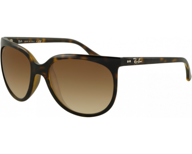 Ray-Ban Cats 1000 Light Havana Crystal Brown Gradient