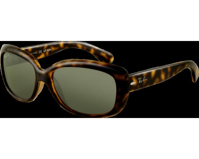 9abadfc67a6 Ray-Ban Jackie OHH Light Havana Crystal Green Polarized - RB4101 710 58 -  Sunglasses - IceOptic