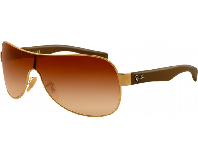 e278ea1019 Ray-Ban RB3471 Arista Brown Gradient - RB3471 001 13 - Sunglasses - IceOptic