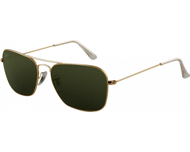 853564e98b Ray-Ban Caravan Flash Lenses Arista Crystal Green - RB3136 001 - Sunglasses  - IceOptic