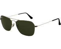 Ray-Ban Caravan Gunmetal Crystal Green