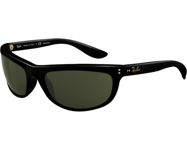 daa33b1a0b Ray-Ban Balorama II Black Crystal Green Polarized - RB4089 601 58 -  Sunglasses - IceOptic