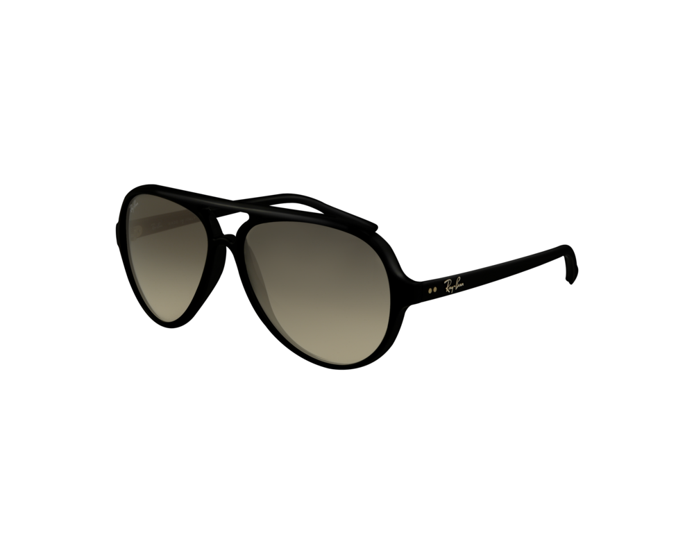 02b9cb04c2a3d Ray-Ban Cats 5000 Black Crystal Grey Gradient - RB4125 601 32 - Sunglasses  - IceOptic