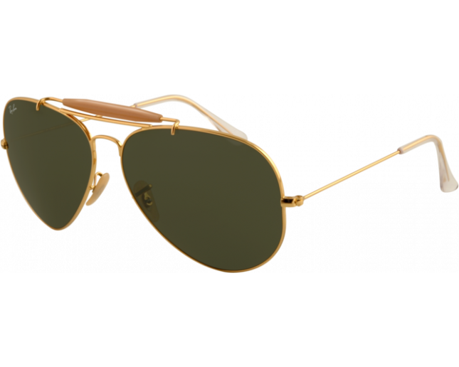 Ray Ban Outdoorsman II Arista Crystal Green