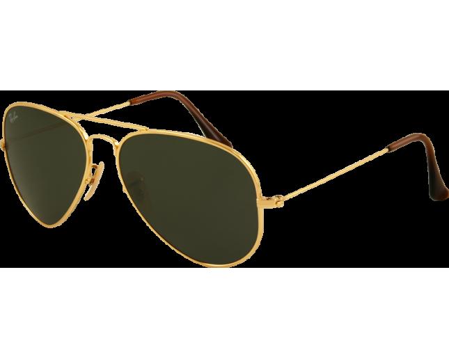 501fbbc073 Ray-Ban Aviator Titanium Gold G15 - RB8041 001 ICE - Sunglasses - IceOptic