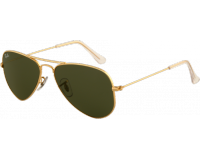 Ray-Ban Aviator Small Arista Crystal Green