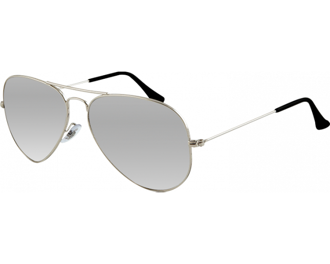 4dcc2c7d15d Ray-Ban Aviator Silver Crystal Grey Mirror - RB3025 003 40 ...