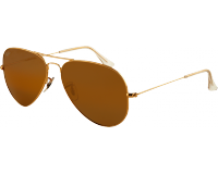 Ray-Ban Aviator Classic Large II Gold Crystal Brown