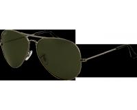Ray-Ban Aviator Large II Gunmetal Crystal Green Polarized