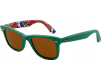 Ray-Ban Wayfarer Surf Top Green On Texture Surf Crystal Brown