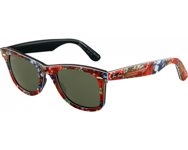 77fa0d21ff Ray-Ban Wayfarer Surf Special Series G-15 - RB2140 1137 ICE - Sunglasses -  IceOptic