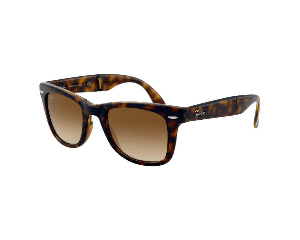 ray ban wayfarer pliantes light havana crystal brown gradient rb4105 710 51 lunettes de. Black Bedroom Furniture Sets. Home Design Ideas