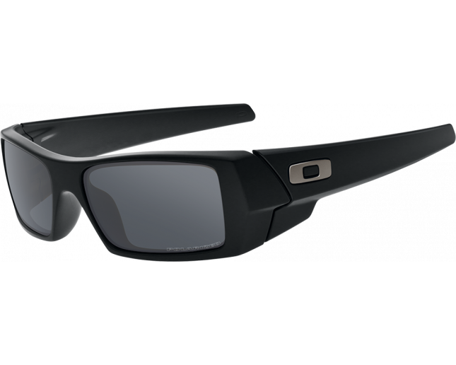 Oakley Gascan Matte black-Black iridium polarisé - 12-856 ICE - Sunglasses  - IceOptic 91b74febc8