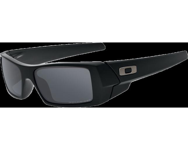 Oakley Gascan Matte black-Black iridium polarisé - 12-856 ICE - Sunglasses  - IceOptic 91b74febc8