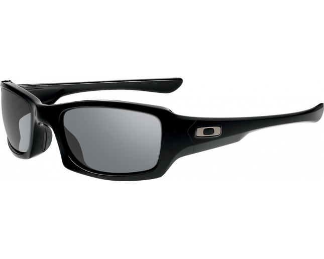 Oakley Fives Squared Polished black-Grey