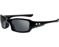 Oakley Fives Squared Polished black-Black iridium polarisé