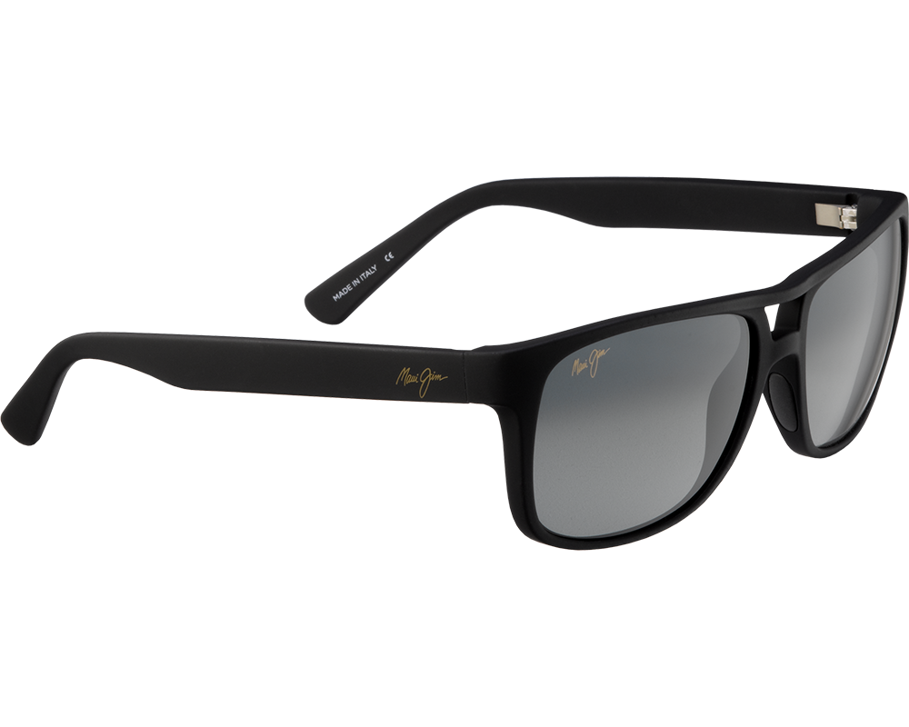 maui jim waterways noir mat gris neutre gs267 02mr lunettes de soleil iceoptic. Black Bedroom Furniture Sets. Home Design Ideas