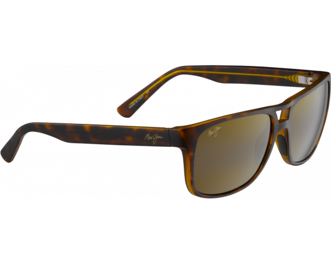 Maui Jim Waterways Ecaille Mat Bronze HCL
