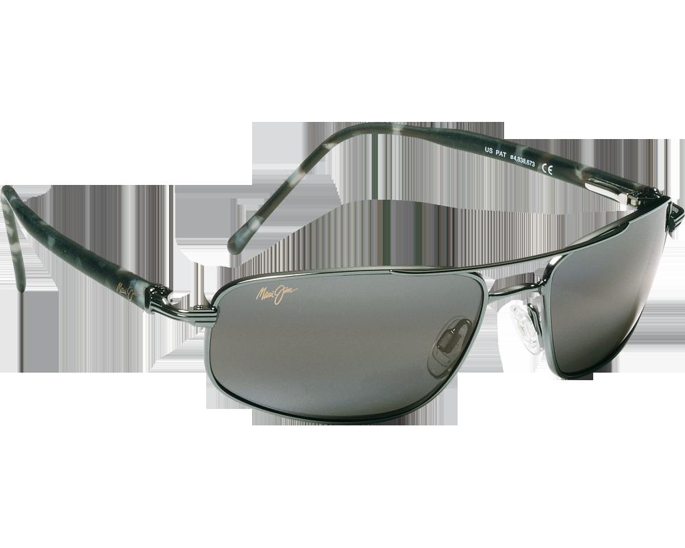 maui jim kahuna gunmetal gris neutre 162 02 lunettes de soleil iceoptic. Black Bedroom Furniture Sets. Home Design Ideas