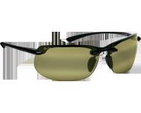 Maui Jim lunette de soleil Banyans Noir Brillant Maui HT Polarisée