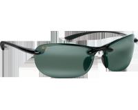 Maui Jim lunette de soleil Hanalei Noir Brillant Gris Neutre Polarisée