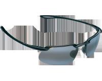 Maui Jim lunette de soleil Kanaha Noir Brillant Gris Neutre Polarisée