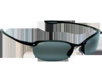 Maui Jim lunette de soleil Makaha Noir Brillant Gris Neutre Polarisée