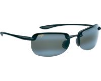 Maui Jim lunette de soleil Sandy Beach Noir brillant Gris Neutre Polarisée