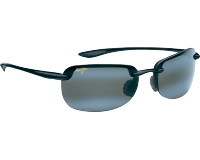 Maui Jim Sandy Beach Noir brillant Gris Neutre
