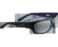 Maui Jim Surf Rider Noir Intérieur Bleu Gris Neutre