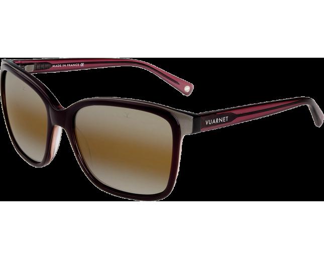 vuarnet vl1309 bordeaux bordeaux transparent brownlynx vl130900042136 ice lunettes de soleil. Black Bedroom Furniture Sets. Home Design Ideas
