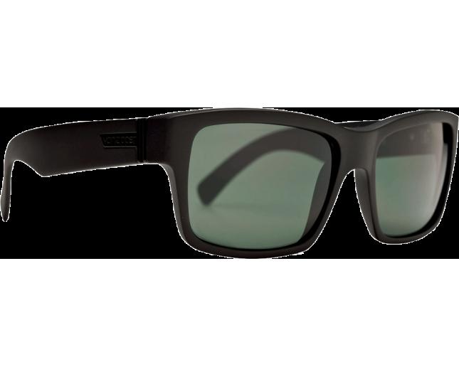 ea4221e677 VonZipper Elmore Black Satin Grey - SMRFAELM-BKS - Sunglasses - IceOptic