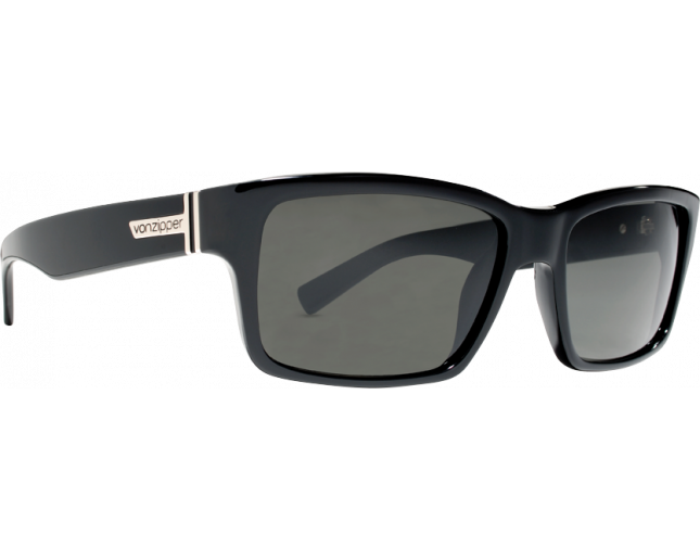 VonZipper Fulton Black Gloss Grey