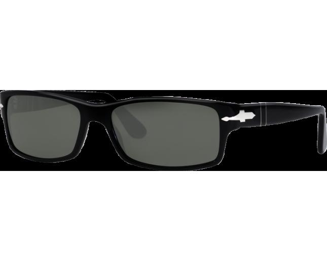 809de32fd5 Persol 2747S Black Crystal Green Polarized - PO2747S 95 48 o - Sunglasses -  IceOptic